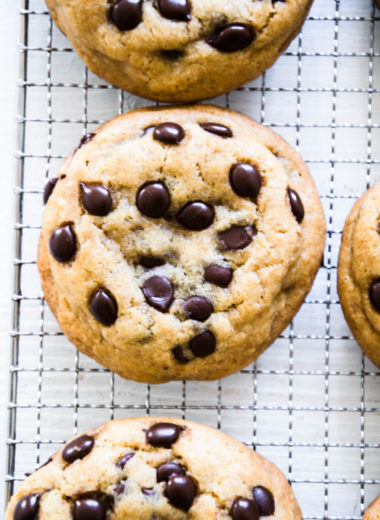 Weiche, chewy Chocolate Chip Cookies wie in den USA